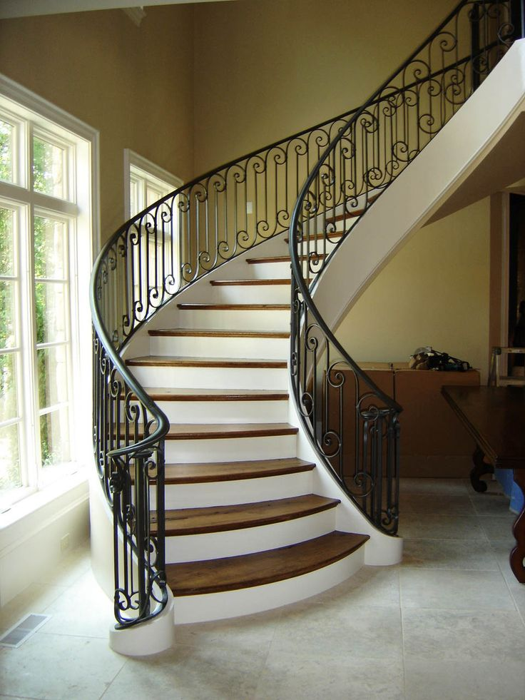 Best 121 Best Curved Staircase Images On Pinterest Curved 400 x 300