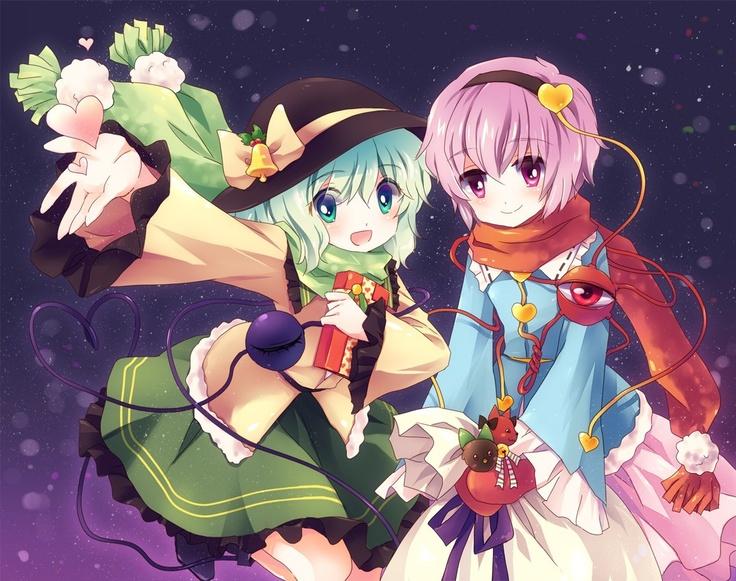 Koishi & Satori Merry Christmas Touhou Pinterest