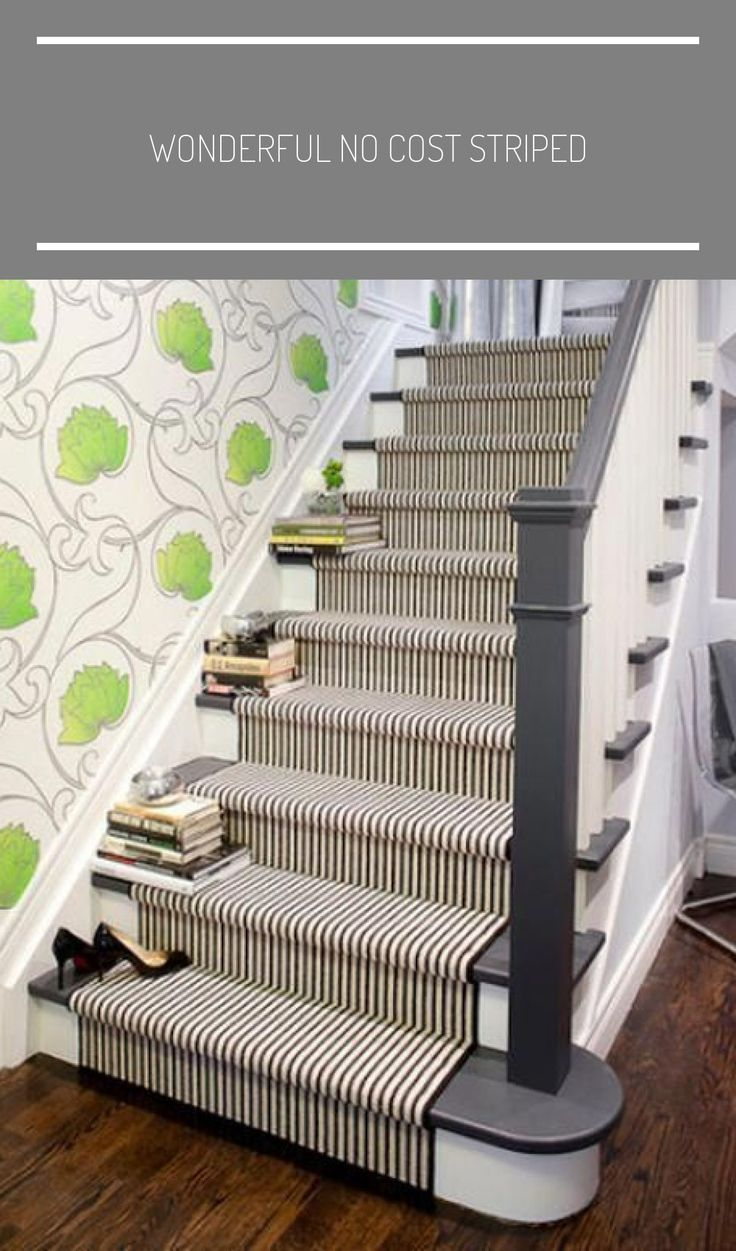Best Wonderful No Cost Striped With Images Carpet Stairs 400 x 300