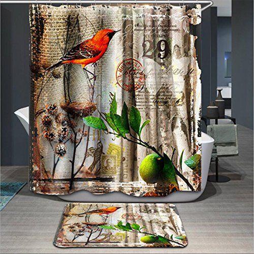 Curtains Ideas curtains birds theme : 17 Best ideas about Bird Bathroom on Pinterest | Recycled jars ...