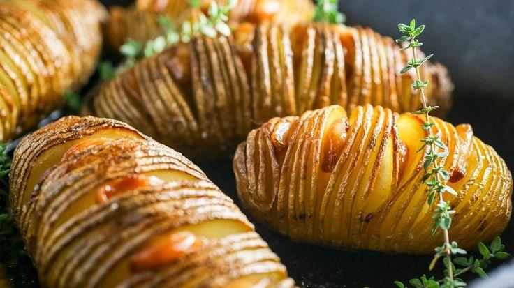 Fächerkartoffeln: Grillbeilage: Fächerkartoffeln mit Rosmarin