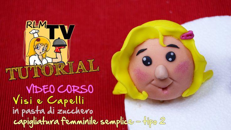 #VIDEO #CORSO: #Visi e #capelli in #pdz - #Capigliatura femminile semplice - tipo 2