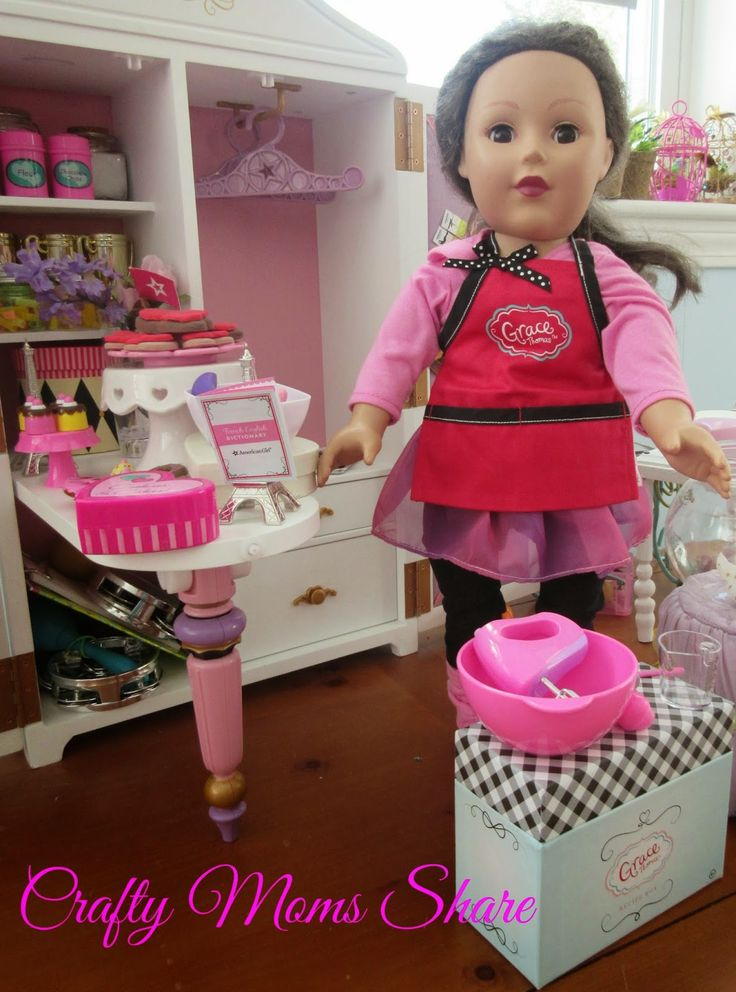 Crafty Moms Share: Playing Grace Thomas Doll Bakery