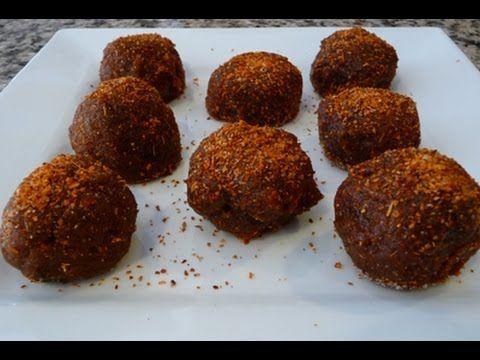 CHUCHEMAN como hacer bolas de tamarindo con azucar (dulce de tamarindo)-Recetas de cocina - YouTube