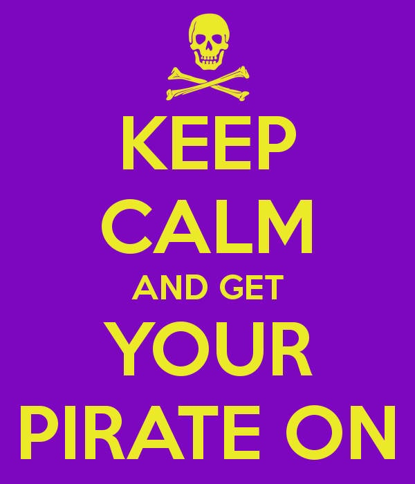 Keep calm and get your pirate on #ecu #pirates