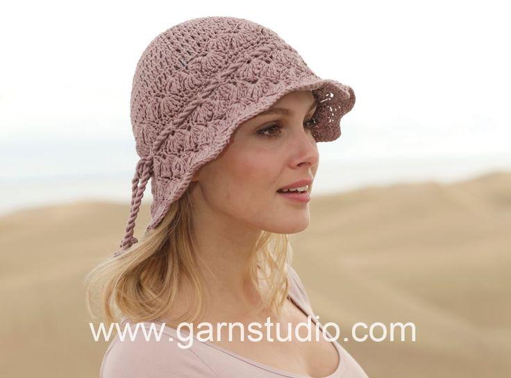 DROPS Crochet Tutorial - Fan pattern in DROPS 153-36