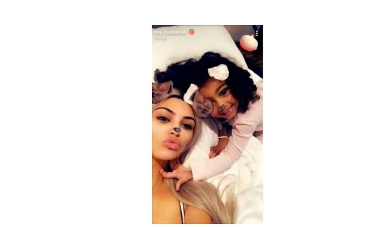 Kim Kardashian and her daughter, North West are all shades of cute in these new photos