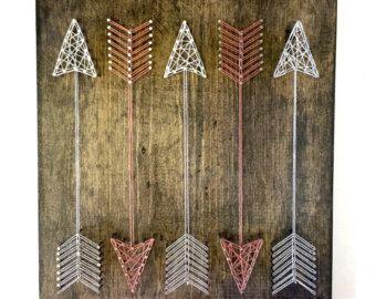 String Art String Art Arrows Snow White Arrows