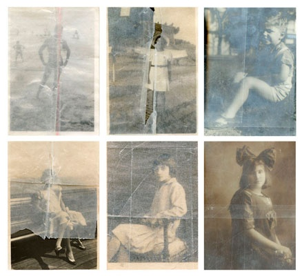 Seis Momentos --- inject UV tintas en canvas. (Six Moments --- inkjet UV inks on canvas) Patricio Reig.