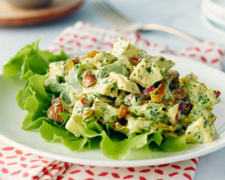 Famous Curried Chicken Salad #SchoolYourChicken