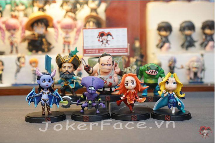 Mô hình Dota 2 - Mini figure DotA 2. Joker Face Shop Hà Nội chuyên mô hình phụ kiện Manga-Anime (One piece, Naruto, Date A Live, Tokyo Ghoul, Fairy Tail, Bleach,Miku, nendoroid, figure chibi, Link website: jokerface.vn/
