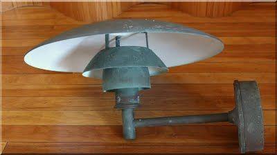 vintage design lámpa