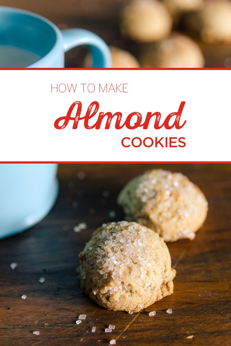 Looking for a deliciously light cookie recipe for the holiday baking season? Try this almond cookie recipe today!