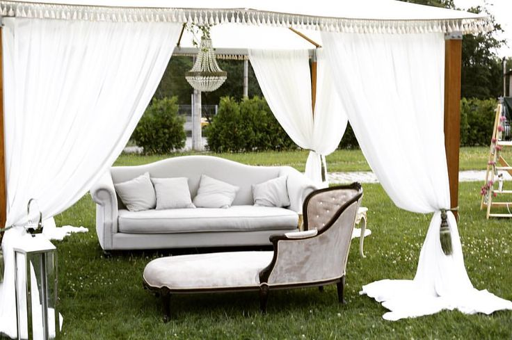 wedding decor, garden wedding