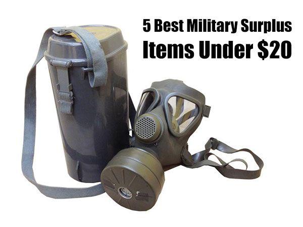 5 Best Military Surplus Items Under $20 - SHTF, Emergency Preparedness, Survival Prepping, Homesteading