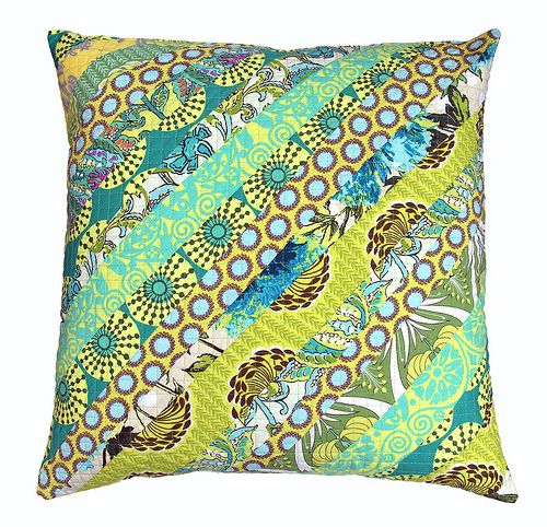 GORGEOUS Amy Butler Sun Glow pillow by Red Pepper Quilts! LOVE IT!  I would think this would look good as a quilt.