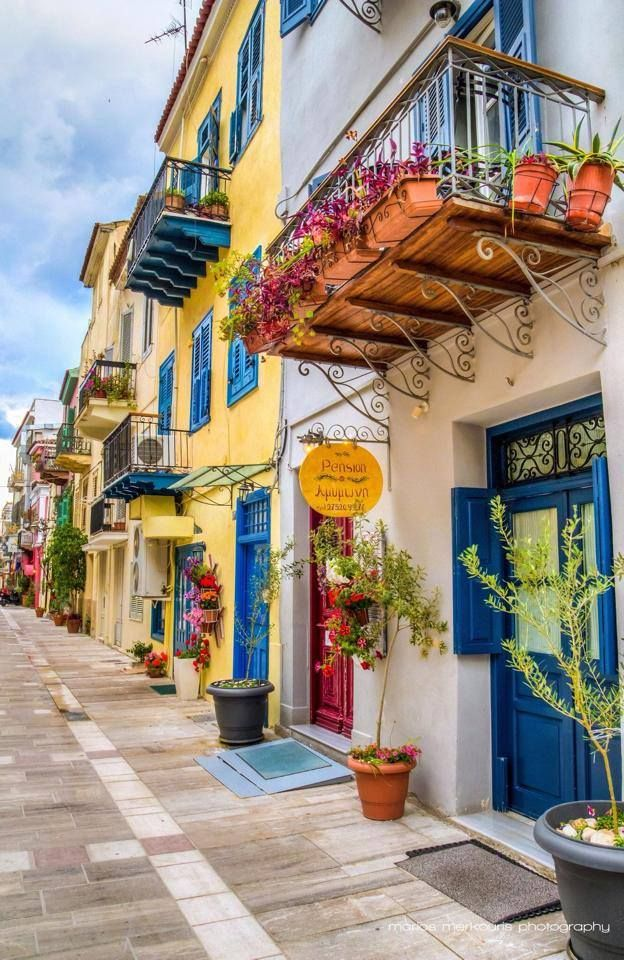 ".~""Amymone"" Pension in Nafplion , Greece@adeleburgess~."