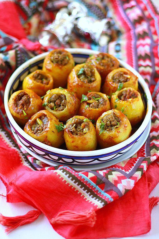 Фаршированный картофель(Батата махши)