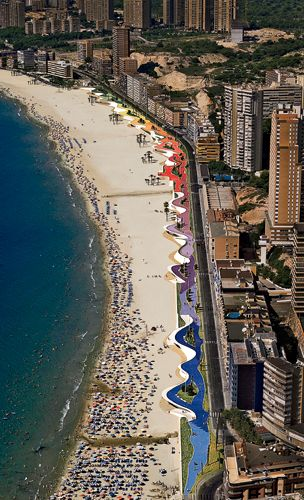 Benidorm Promenade - Architecture Linked - Architect & Architectural Social Network
