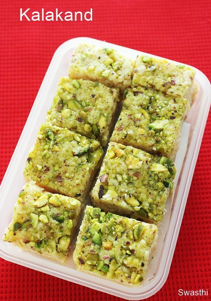 Kalakand How To Make Kalakand Sweet Instant Kalakand Recipe Kalakand Recipe Indian Dessert Recipes Indian Food Recipes