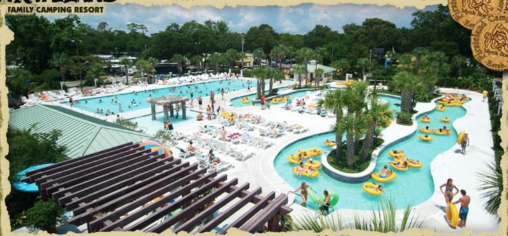 Myrtle Beach Camping : Pirateland Campground in Myrtle Beach, SC