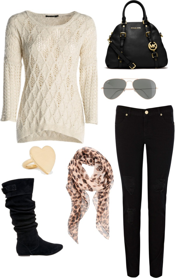 """""""Cream"""" by pandastyle-821 on Polyvore  Wear something like this in plus size."""