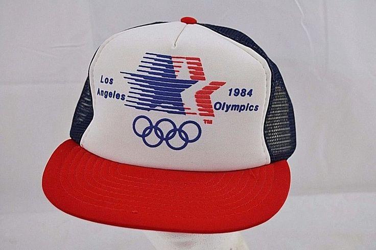 LA 1984 Olympics Red/White/Blue Baseball Cap Snapback One Size Fits All (Olympic 1). | eBay!