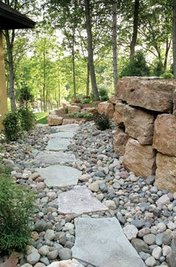1000 Ideas About Rock Walkway On Pinterest Walkways
