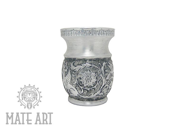 Yerba Mate Akcesoria Repusowane Palo Santo do Yerba Mate #palosanto #yerbamate #mateart #metalart #handmade #robertprzydatek