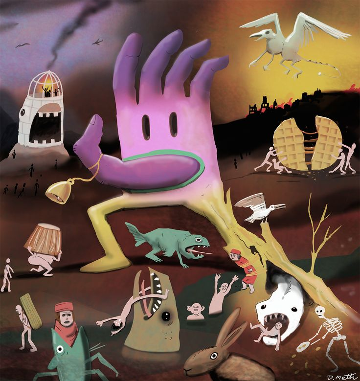 Frankie a'a Hieronymus Bosch for KLIK! Amsterdam Animation Festival