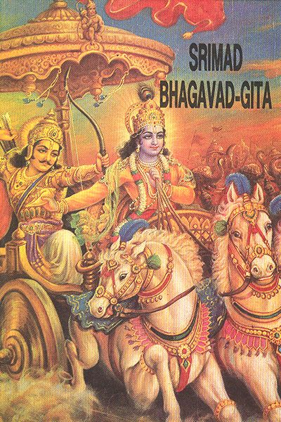 Srimad Bhagbat Gita edited and translated by Tridandi Gosvami Srila Bhakti Pradip Tirtha Goswami  Maharaj in English language gives a detail  account of the slokas with brief description.