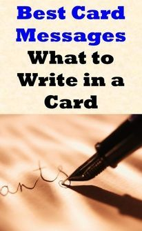 I hate when I can't think of what to write in a card! I'll be using this site a lot!