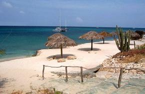 Boca Catalina Beach in Aruba, great snorkeling!