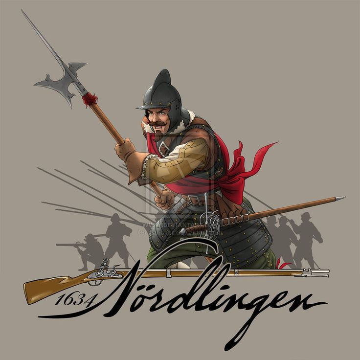 Spanish Tercio Sargeant (Officer with halberd) at the Battle of Nördlingen (1634), by Almayer