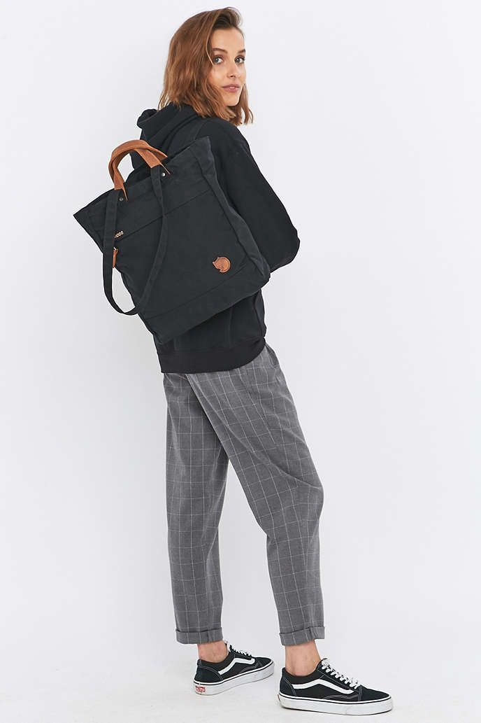 Fjallraven Totepack No. 1 Black Backpack - Urban Outfitters