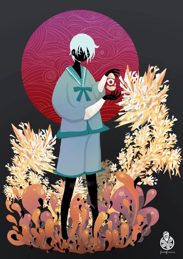 The Tale of the Karma Demon-Shinsekai Yori fan-art by FantaFumino.deviantart.com on @deviantART