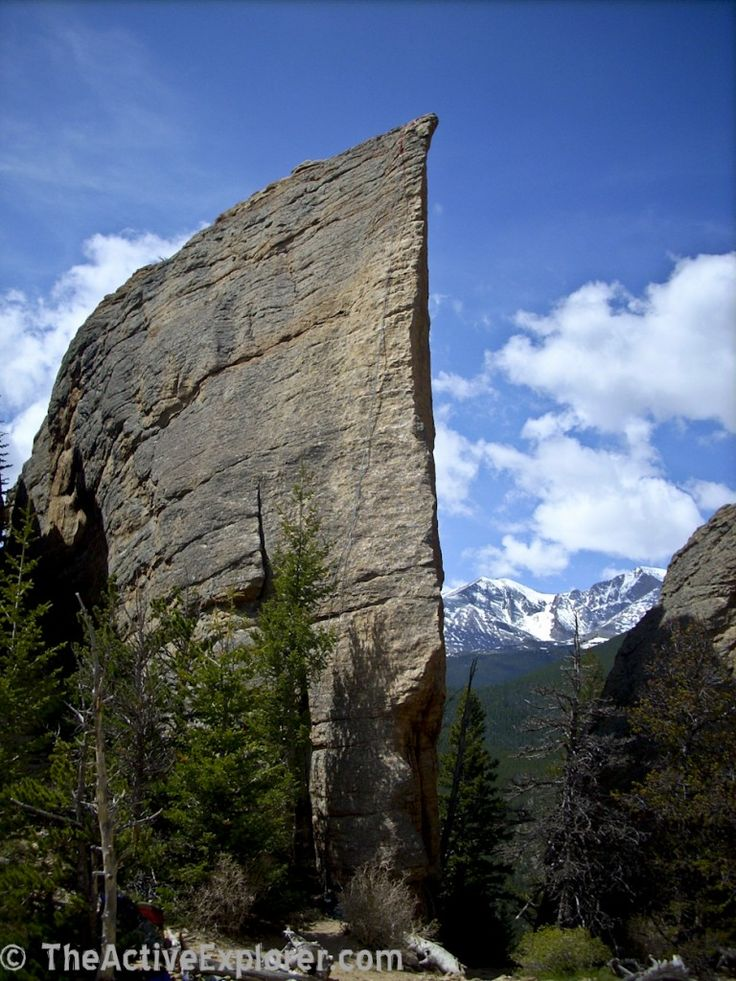 Edge of Time, Estes Park, CO, breathtaking, beauty of Nature, cliff, rock, mountain, clouds, beautiful, blue sky, trees, photo