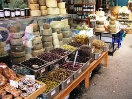 Chania Market foods Crete Kriti