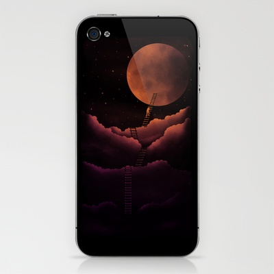 Stairway To the Moon iPhone & iPod Skin by sayahelmi - $15.00