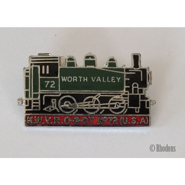 Keighley & Worth Valley Railway, Steam Loco / Railway Enamel Lapel Pin Badge Listing in the Enamel Badges & Pinbacks,Badges, Pinbacks & Patches,Collectables Category on eBid United Kingdom | 145238686