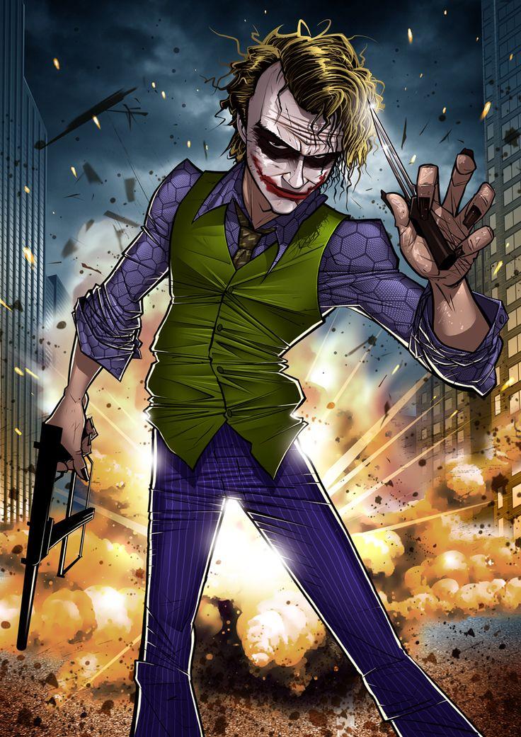 Best joker ever #fanart #illustration #batman