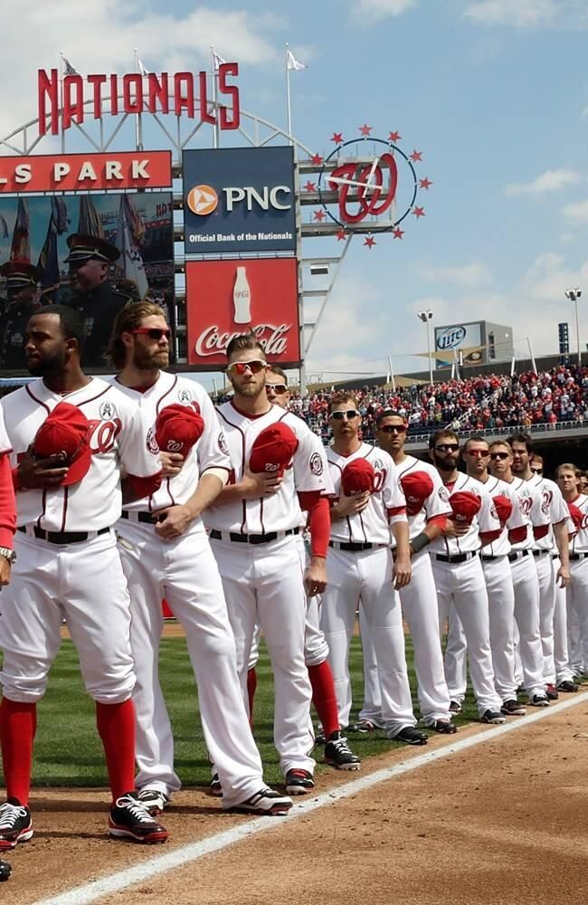 The Washington Nationals... the team to beat in 2015!!! Give it up Mets!!!