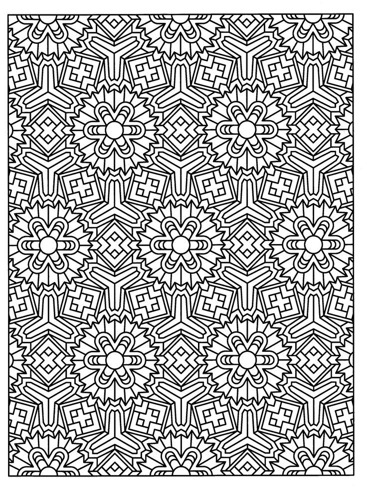 Geometric Art Coloring Book : The 5797 best images about geometric coloring books on pinterest