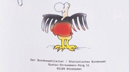 Ein satirisch gemeintes Editorial der zur angeblichen Schätzung der Bundestagswahl hat Nachahmer auf den Plan gerufen. Der Bundeswahlleiter kann über den Scherz gar nicht lachen.