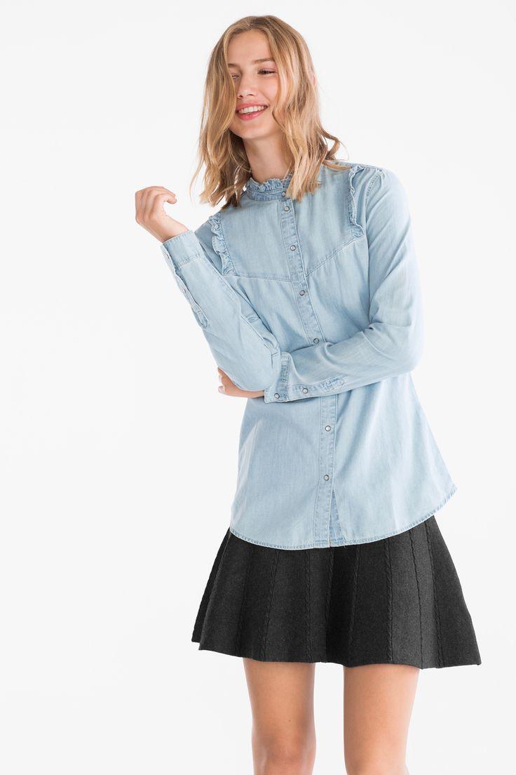Z2018  Bluzka dżinsowa   C&A