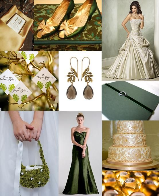 1000+ Ideas About Forest Green Weddings On Pinterest