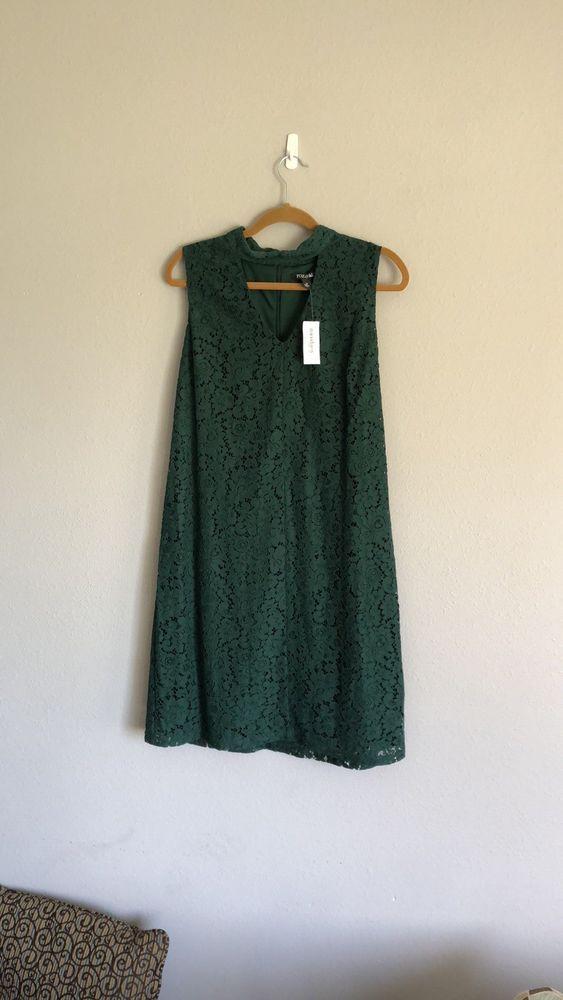 b9e493d722c Womens Dress Barn Green Keyhole Lace Dress  fashion  clothing  shoes   accessories  womensclothing  dresses (ebay link)