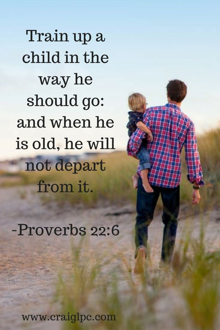 Take a moment today to be reminded of both the immense privilege and the tremendous responsibility of being a father.