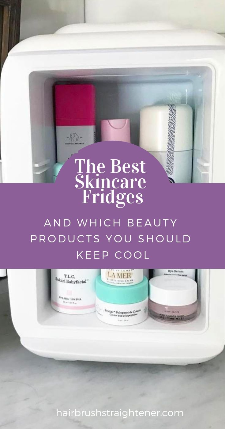 The Best Skincare Fridge Of 2020 Keep Your Make Up Effective Longer Skin Care Beauty Care Beauty Hacks