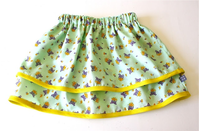 double layered looking skirt for toddler scarlett <3xojo